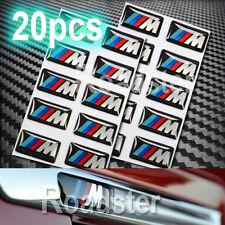 20x M 3D LOGO RESIN DECAL/STICKER FOR MTEC POWER WHEEL RIM BADGE STEERING M3 X5