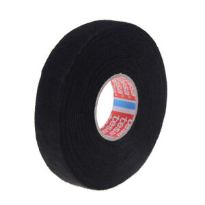 Tesa tape 51608 adhesive cloth fabric wiring loom harness 25m x 19mm 9UK