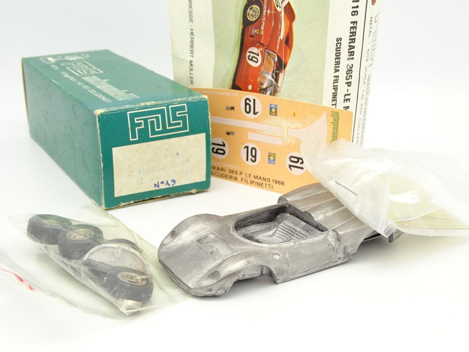FDS Kit à Monter 1 43 - Ferrari Ferrari Ferrari 365 P Le Mans 1966 961aac
