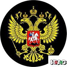 STICKERS AUTOCOLLANTS RUSSIE AIGLE POUTINE  - 10 CM