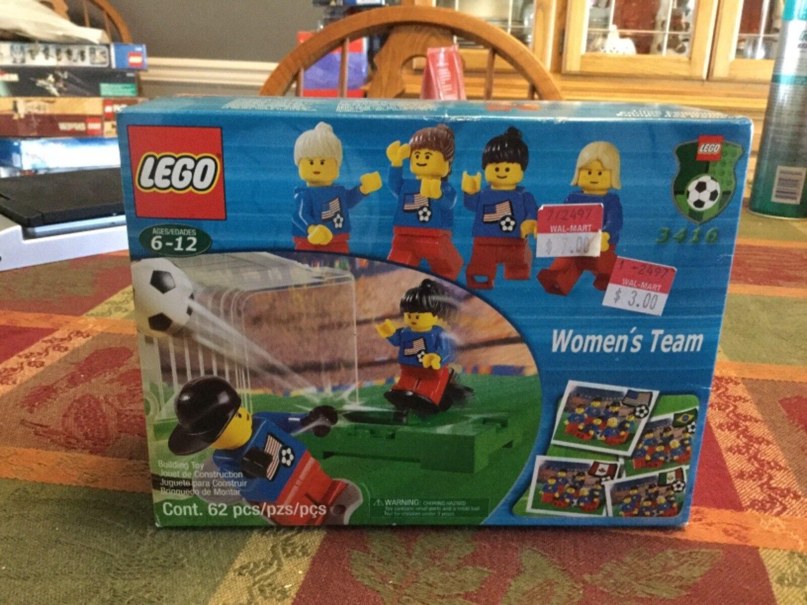 BRAND NEW  FACTORY SEALED  Lego SPORTS SOCCER 3416 WOMEN'S TEAM