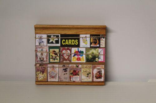 Maison de Poupées cartes SHOP DISPLAY BOARD