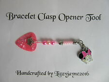 CHARM BRACELET CLASP OPENER PRINCESS MINNIE SNAKE CHARM XMAS STOCKING FILLER