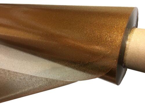 Clair Transparent Paillettes PVC Vinyle Facile à Nettoyer Nappe toutes tailles par Prestige