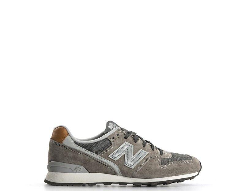 shoes NEW BALANCE Femme grey Cuir naturel WR996GB-S