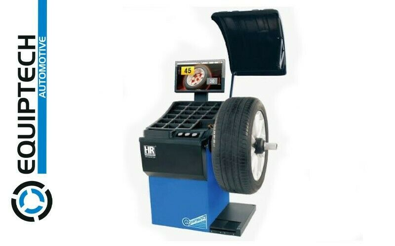 WELL MANUFACTURED FULLY AUTOMATIC WHEEL BALANCER HW9820