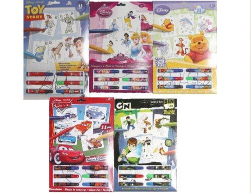 Disney couleur fun sélection de designs à choisir