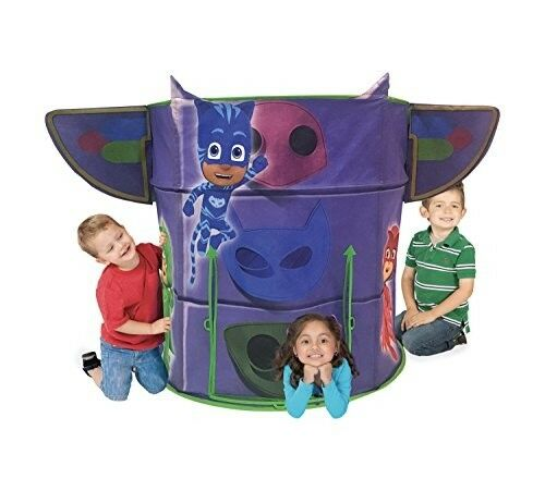 PJ Masker Tunneln Tent Hut Spela Barn Barn leksak Boy Girl Gift Inomhus Outdoor New