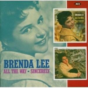 BRENDA-LEE-ALL-THE-WAY-SINCERLY-CD-NEW