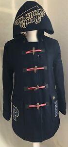 Medium Embroidery Size Coat Pb Duffle Embelished Navy Boutique Pauls Logo Bnwt qwXAYWv