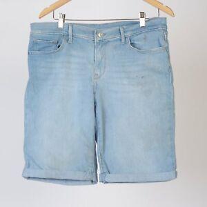 Levi-039-s-Bermuda-Damen-Denim-Shorts-Groesse-32