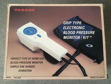 YAMASU GRIP TYPE ELECTRONIC BLOOD PRESSURE MONITOR / KIT MODEL YSE-260
