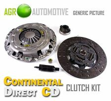 CONTINENTAL DIRECT COMPLETE CLUTCH KIT GENUINE OE QUALITY - CDC2002