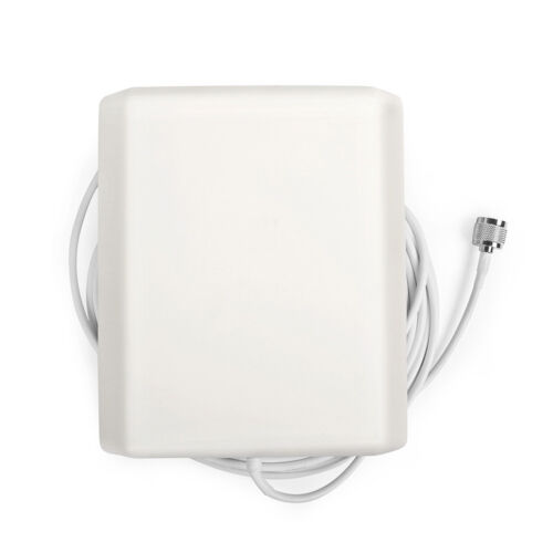 824~2500MHz Indoor 7-9dBi Panel Antenna 5 meter Cable with N Male Connector