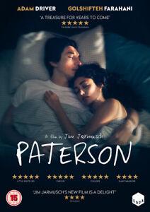 Paterson-DVD-2017-Adam-Driver-Jarmusch-DIR-cert-15-NEW-Amazing-Value