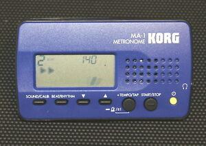 Metronome-KORG-MA-1-Bleu-gt-gt-gt-expedition-rapide-lt-lt-lt-034-Gardez-le-tempo-034