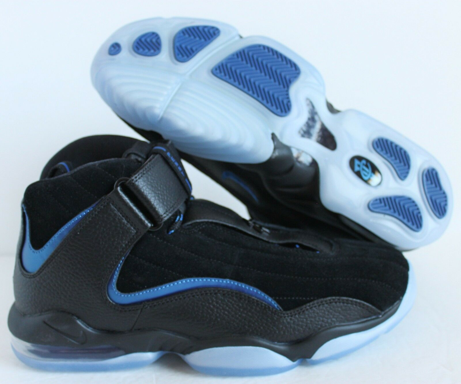 Nike Nike Nike Hombres Air Penny Iv 4 Hardaway Baloncesto Negro-azul [864018-001] 8b649d