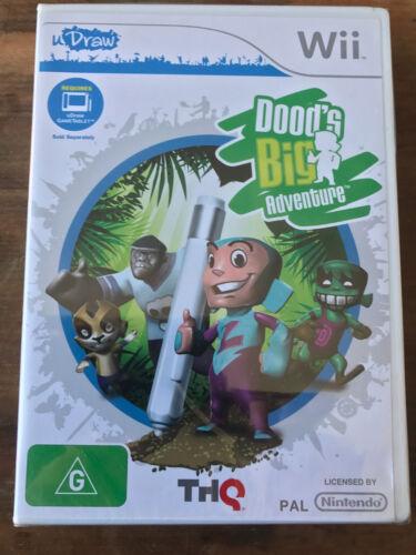 1 of 1 - DOOD'S BIG ADVENTURE ORIGINAL AUS PAL NINTENDO Wii BRAND NEW AND FACTORY SEALED