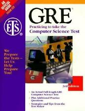 Gre: Practicing to Take the Computer Science Test (3rd ed) by Educational Testi