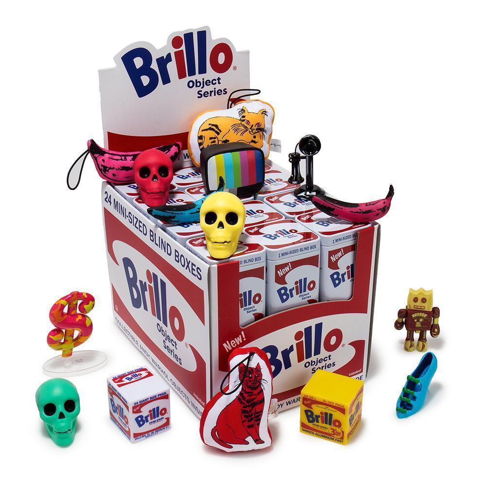 Andy Warhol Brillo Box Mini Series Tin Can Blind Box KIDROBOT buy 4 get 1 free