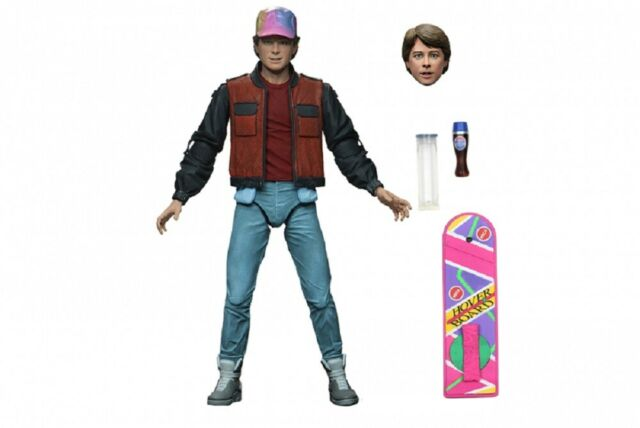 """NECA Back to the Future Part 2 II Marty McFly Ultimate 7"""" Scale Action Figure"""