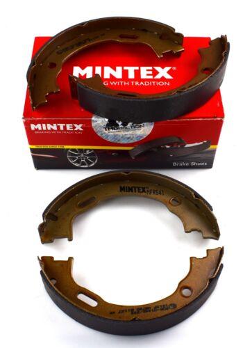 Mintex Posteriore Freno Scarpa Set Mercedes Benz MFR541 immagine reale di parte