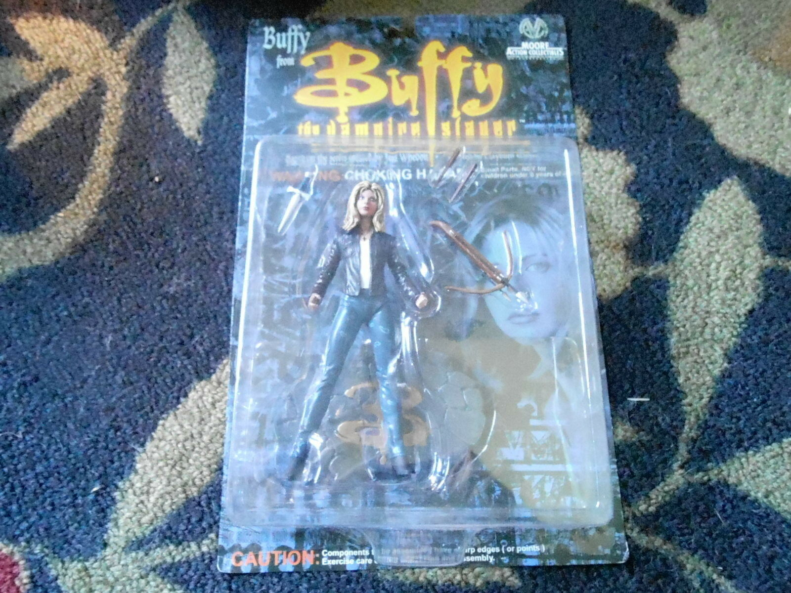 MIP SEALED - BUFFY THE VAMPIRE SLAYER - MOORE ACTION FIGURE - BUFFY - AVC (S4)