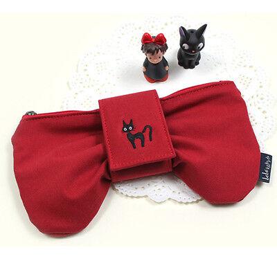 Studio Ghibri Official kiki's delivery Service Red Ribbon - Pencil Case Pen Bag