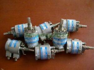 1x TAMAGAWA URA-0110L-02 0-3GHz 10dB SMA 1dB Step Variable Attenuator