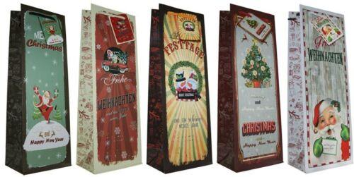Geschenktüten Weihnachten 38x26x11 Quer Weihnachtstüten Geschenktasche 22-5684