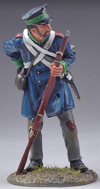 Thomas Gunn Napoleonisch Britisch nap040b Preußische Westfalen Landwehr reloadin    Verschiedene