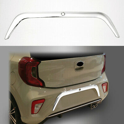 Rear reflector Cover Garnish Molding For 2015-17 KIA Picanto Chrome Fog Lamp