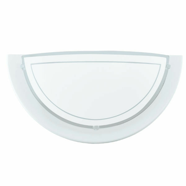 Eglo 83154 'Planet1' Wall Uplighter 60W White