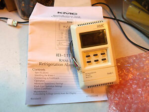 KMC-Controls-IEI-1110-Ram-1-Refrigeration-Alarm-Monitor-New-In-Original-Box