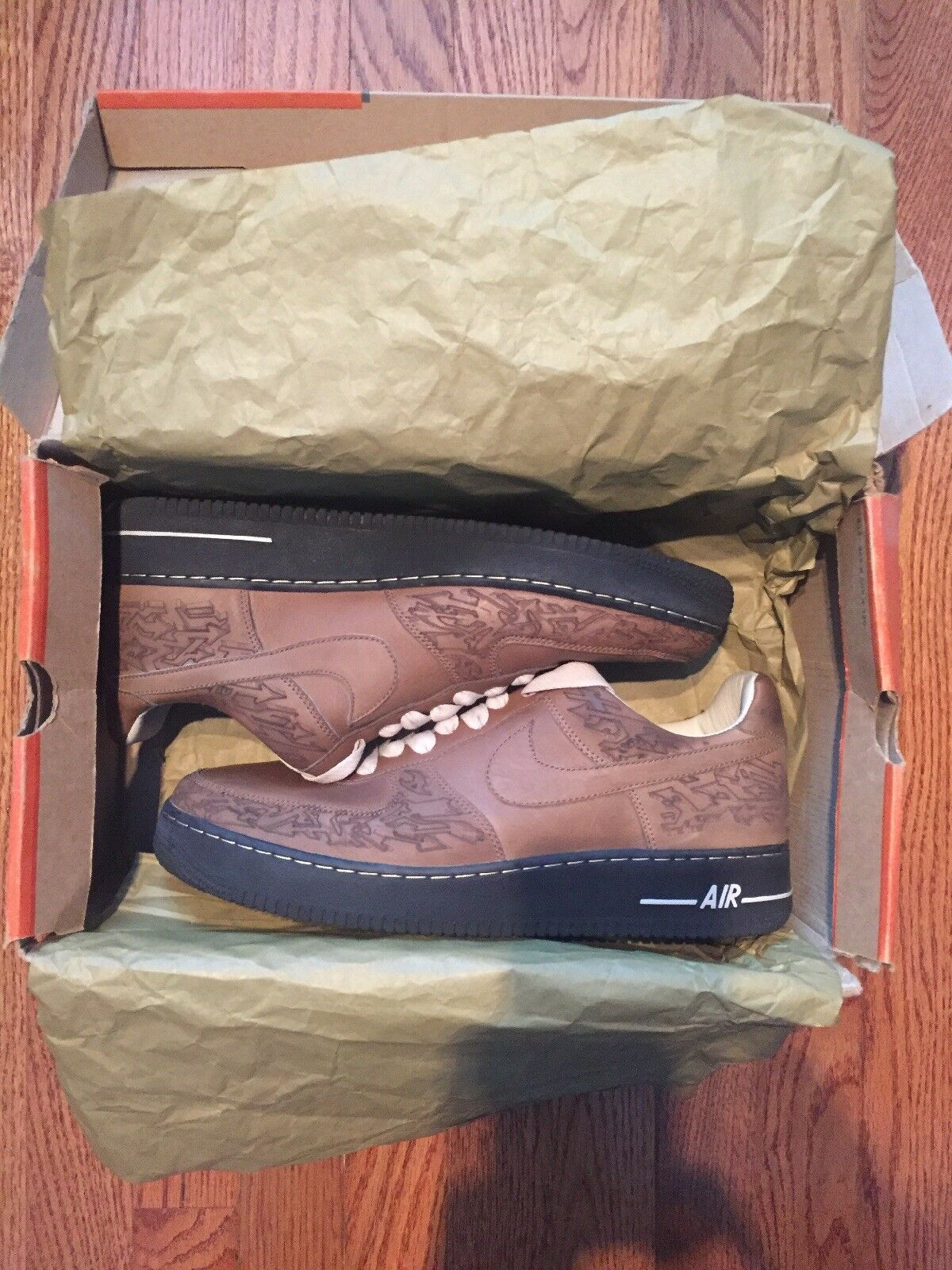DS 2018 Nike Air Force 1 Stephen Maze Georges Laser Pack size 12