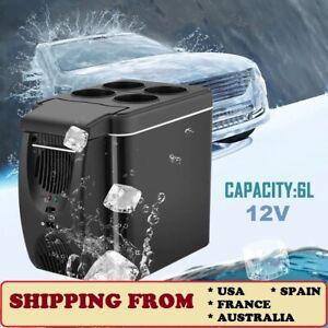 Portable Car Picnic Camping Travel Warmer & Cooler MiniFridge 12V6L Refrigerator