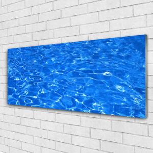 Impression sur verre acrylique Image tableau 125x50 Art Eau