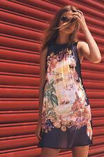 NWT SZ 6 $168 Anthropologie Varese Silk Dress By Moulinette Soeurs Tunic