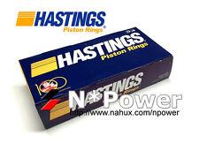 HASTINGS CHROME PISTON RING STD FOR NISSAN QG18DE 1.8L DOHC VCT Pulsar N16 00-06
