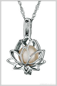 Pick-a-Pearl-LOTUS-Sterling-Silver-Pearl-Cage-Pendant