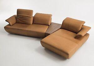 koinor sofa avanti leder e farbe toscana 369 x 185 cm sitztiefenverstellung ebay. Black Bedroom Furniture Sets. Home Design Ideas