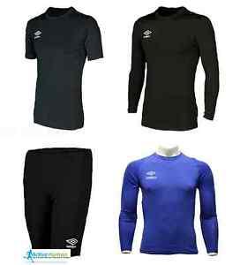 Umbro-Boys-Kids-Girls-Compression-Baselayer-Shirt-Long-Short-Sleeve-Top-Skins