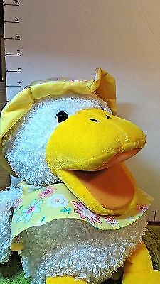 Easter, Puppet, Duck, Chrisha Playful Plush, Quacks 3 Songs,Collectible Toy