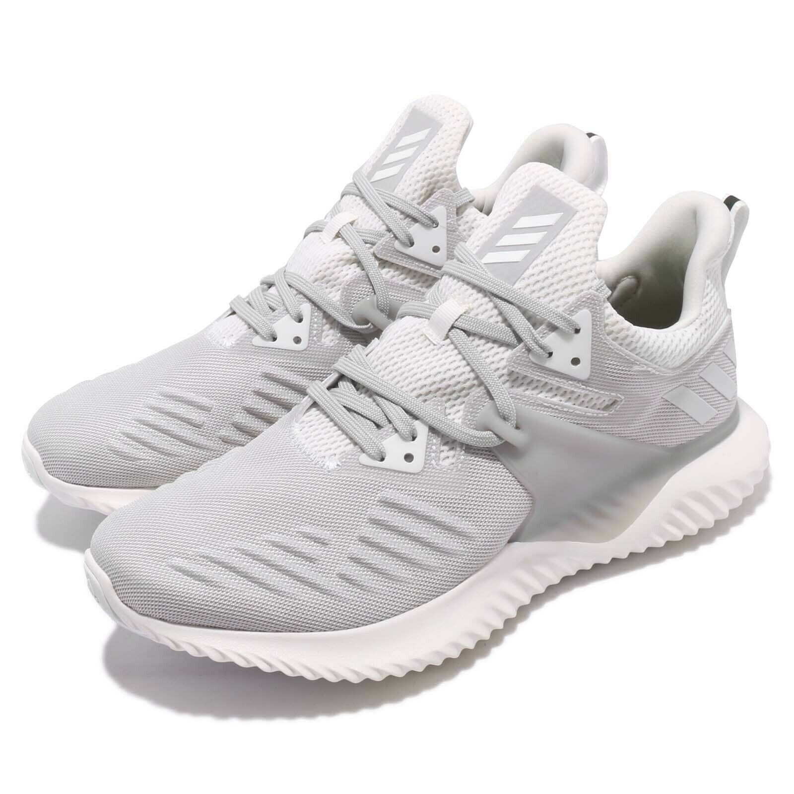 4b2066c8d7a7a Adidas AlphaBOUNCE Beyond 2 M White Grey Men Running shoes Sneakers BD7095
