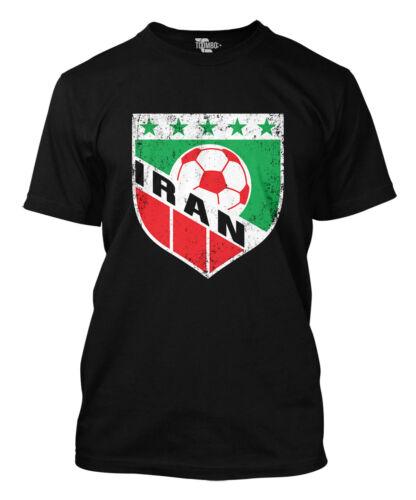 Iran Soccer Badge World Cup futbol football Olympics Mens T-Shirt