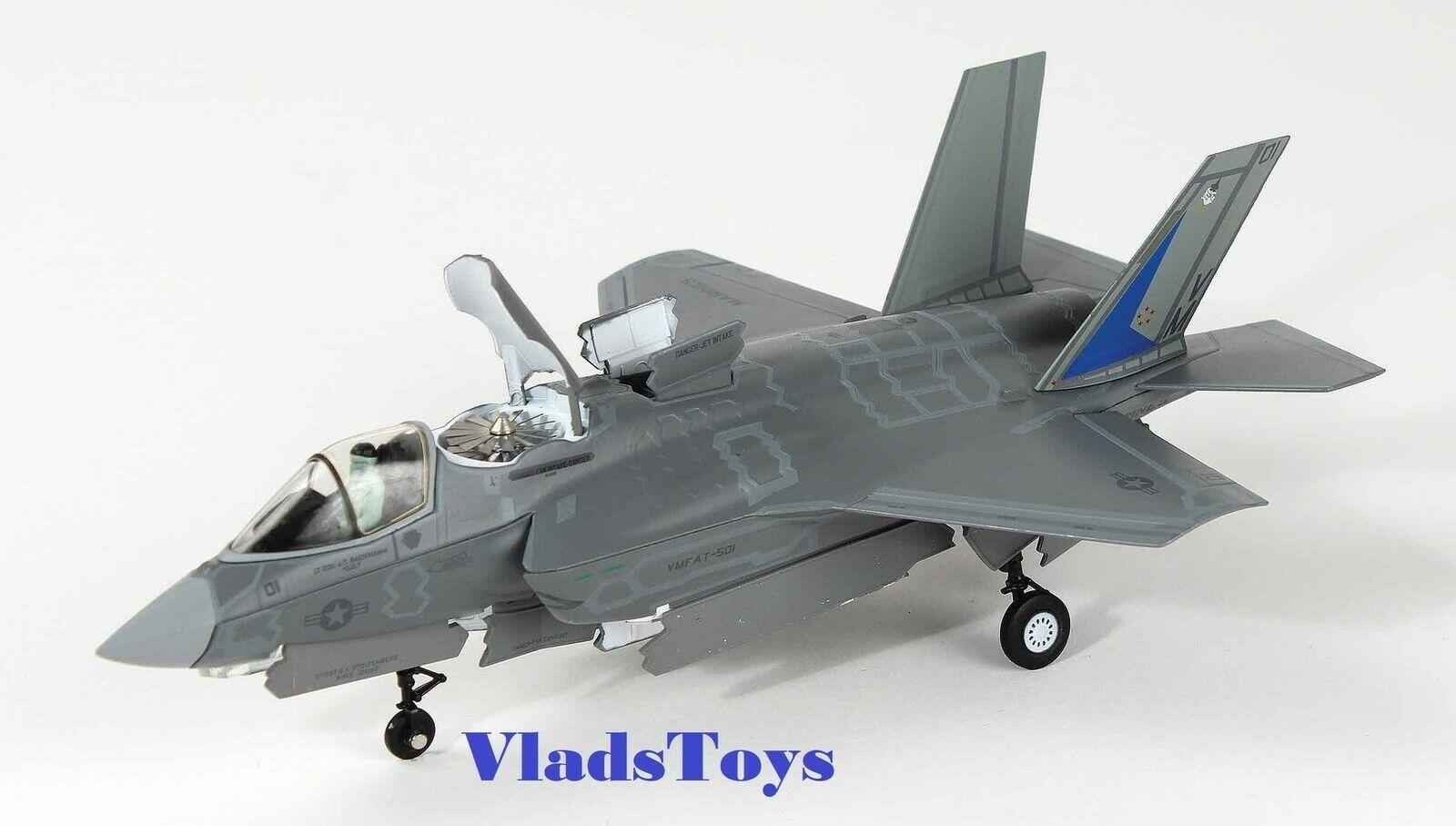 Air Force 1 1 72 F-35B Lightning Ii Bastidor troncal de conmutación United States Marine Corps VMFAT - 501 caudillos AF1-0009A