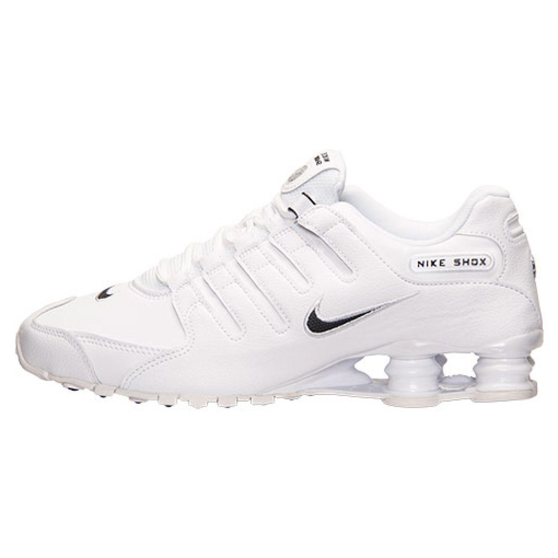 Size Men 12.5 / 13 / 15 NIKE Men Size SHOX NZ White Black 28a309