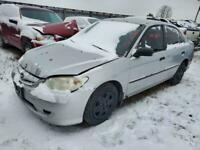 **OUT FOR PARTS!!** WS6273 2005 HONDA CIVIC Woodstock Ontario Preview