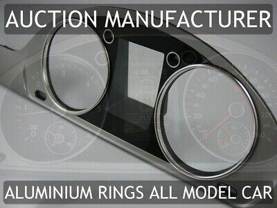 Audi A4 S4 B5 1994-2001 Lufteinlassringe aus poliertem Aluminium x2