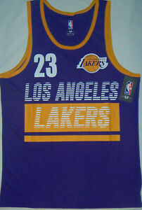 best service 7a3bb 907a5 Details about New Mens NBA Store Los Angeles Lakers #23 Lebron James Jersey  Tank